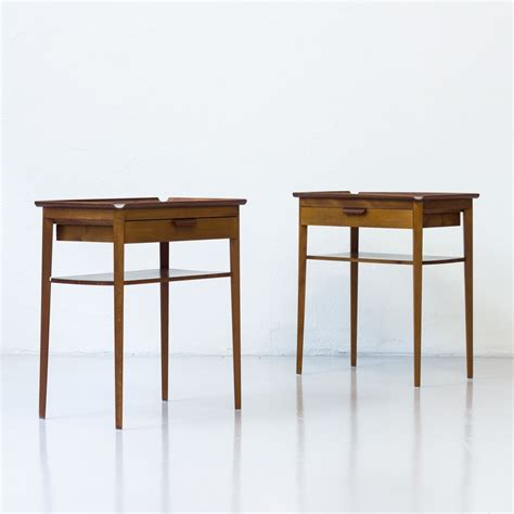 End Table Set Of 2 by Set Of 2 Side Tables From The Fifties By Bertil Fridhagen