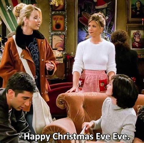 happy christmas eve eve love phoebe friendstvshow