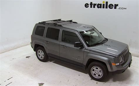 thule roof rack for jeep patriot 2014 etrailer