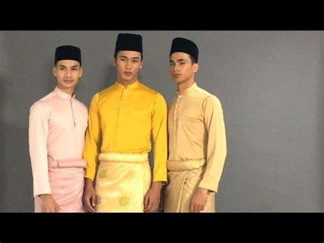 Baju Melayu Untuk Pria baju melayu modern b a j u rtw collections 2017 the photoshoot special edition