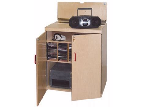 Storage Mba by Lock It Up Mobile Classroom Audio Listening Center Mba
