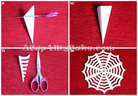 How To Make A Spider Web With Paper - discover and save creative ideas