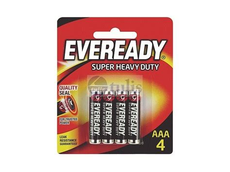 eveready heavy duty 1212 bp4 battery size aaa 4 s largest office supplies store