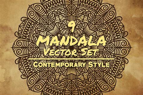 mandala pattern font mandala art contemporary style by art design bundles