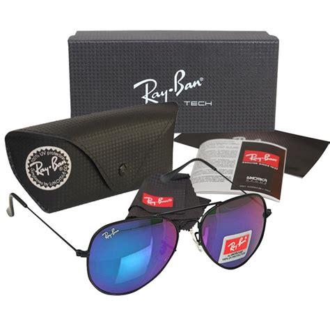 Kacamata Rayban Aviator 3026 Purple Ungu ban rb 3026 blue purple aviator black frame replica sunglasses