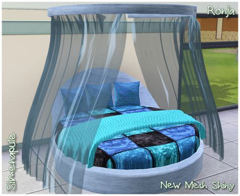 3 on a bed my sims 3 blog bindweed bed by ronja