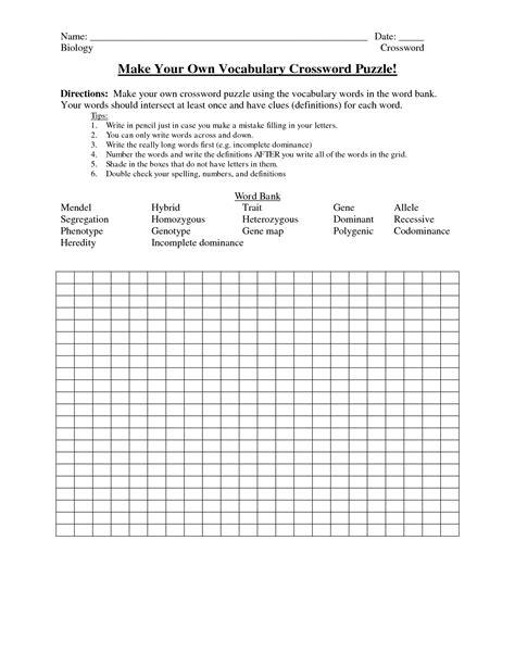 make your own crossword template make your own crossword vi bor i samme hus