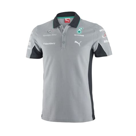 Tshirt Mercedes Petronas F1 Team mercedes amg petronas f1 2014 s team polo shirt