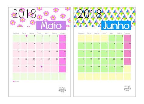 Calendario Junho De 2018 Calendario Maio 2018 Pertamini Co