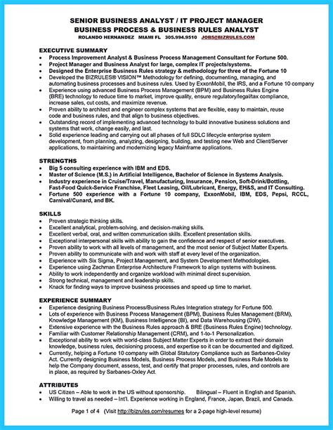 business analyst resume pdf military bralicious co
