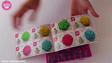 cakebe  pcs  cake decorating tools set  beginners youtube