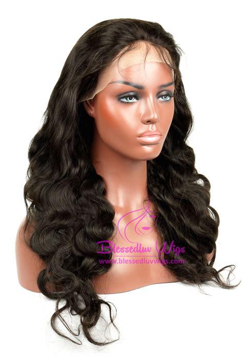 black label wavy european hair 187 brazilian full lace wig body wave