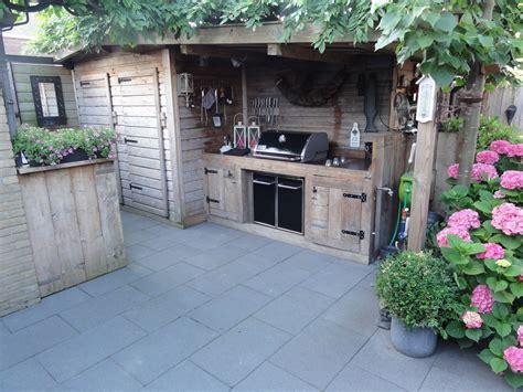garden kitchen ideas weber genesis buiten keuken outdoor garden kitchen bbq