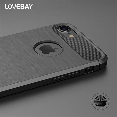 lovebay phone for iphone x 7 7 plus 6 6s plus 5 5s se luxury new carbon fiber soft tpu