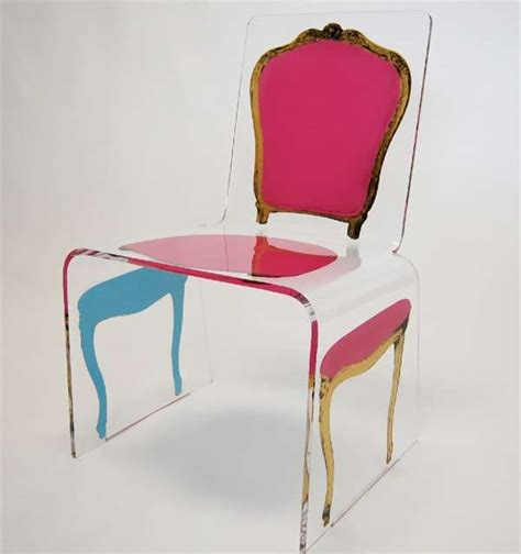 lavish post modern seating the deconstructed acrylic