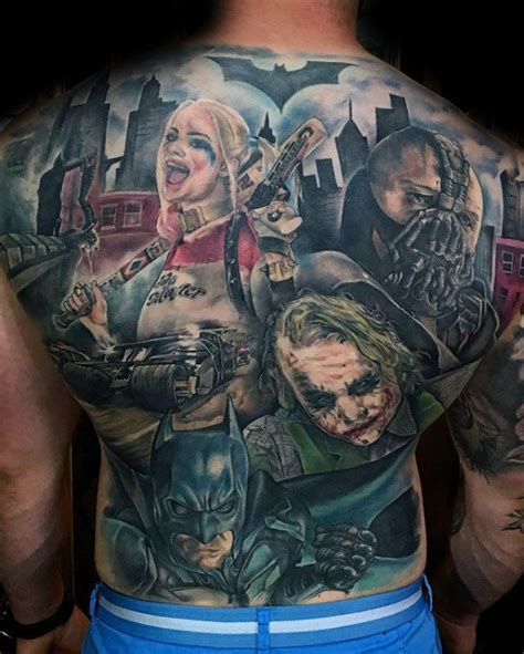 dc tattoos 50 bane designs for manly ink ideas