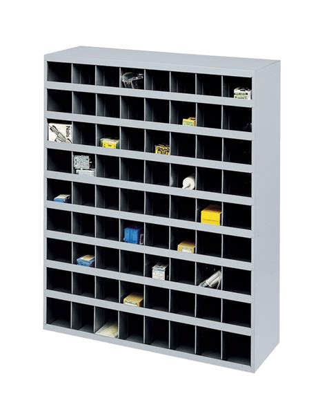 72 bin storage cabinet unit box storage cabinet