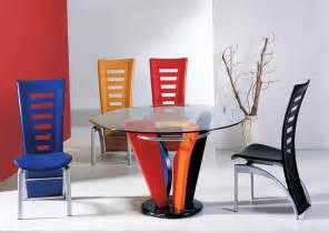 modern stylish dining room table