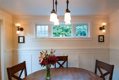 Houzz Wainscoting by Wainscoting Transitional Dining Room Seattle By