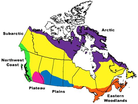 canadian map of nations aboriginals in canada looking beyond the flag canada