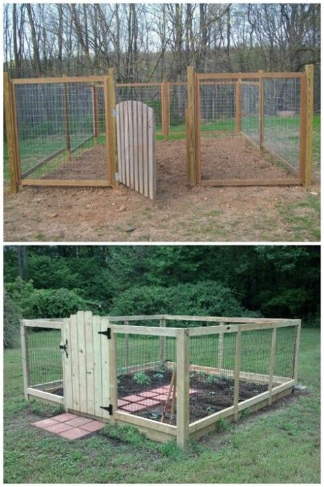 Raised Garden Fence Ideas Raised Bed With Deer Fence Deer Proof Vegetable Garden Ideas 6 Deer Proof Vegetable Garden