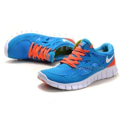 nike shoes on sale nike free run 2 2 0 womens running shoes blue orange on