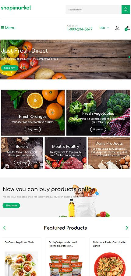 shopify grocery themes food drink shopify theme no 62200 shopify themes