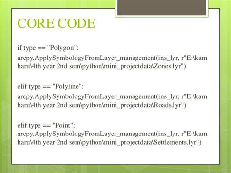 list layout elements arcpy symbology automation using arcpy