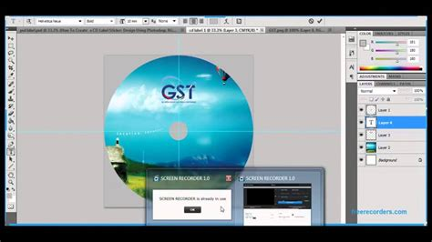 layout cover dvd photoshop how to create a cd or dvd label or cover design using