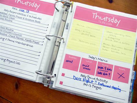 free printable household organizer free printable family planner calendar template 2016