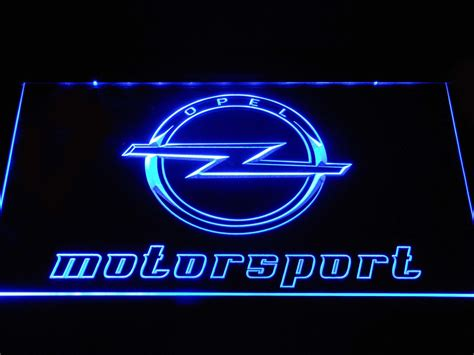 Neon Led Motor opel motorsport led neon sign safespecial