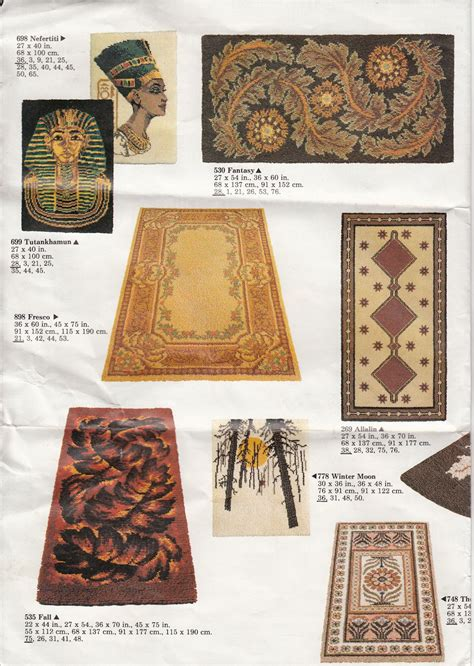 redicut rugs rugs vintage readicut catalogue