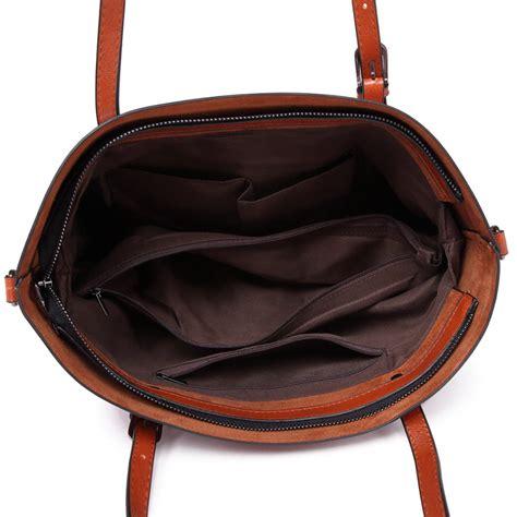 Pantofel Pria Trendy Leather Brown e6709 bn miss lulu trendy womens tote bags wax leather brown