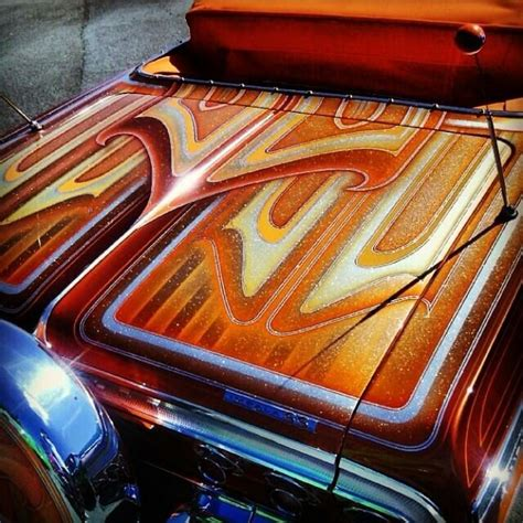 custom pattern paint jobs 17 best images about lowrider on pinterest bullets