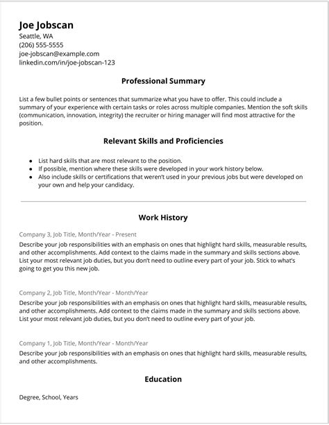 exle of a covering letter for a job application hybrid resume template 1 11 jobscan