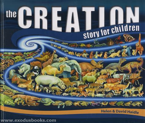 creation story for kids book creation story for children exodus books