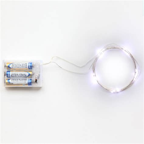 2m 20 Led Battery Led String Light 3pcs Aa Battery Led Light String