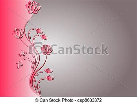 vectores de fondo rosa y illustraciones libre de derechos ilustraciones de vectores de rosa plano de fondo rojo