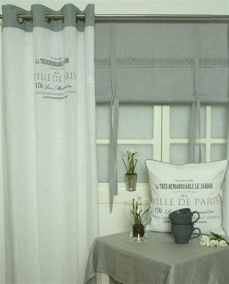 vorhang outdoor ville de vorhang gardine grau 120x240 2 st 252 ck
