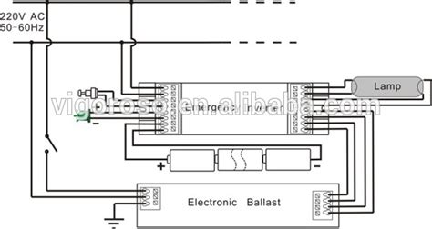 fluorescent emergency ballast wiring diagram inverter