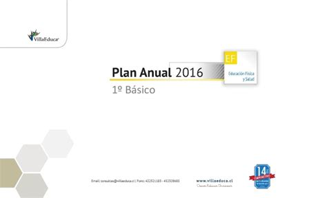 plan anual 2016 slidesharenet planificacion anual educacion fisica 1 basico 2016