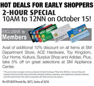 ace hardware sms ilovesmdavao smac 2 hour special opens sm s 3 day sale