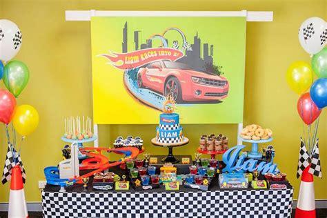 hot birthday themes kara s party ideas hot wheels car birthday party kara