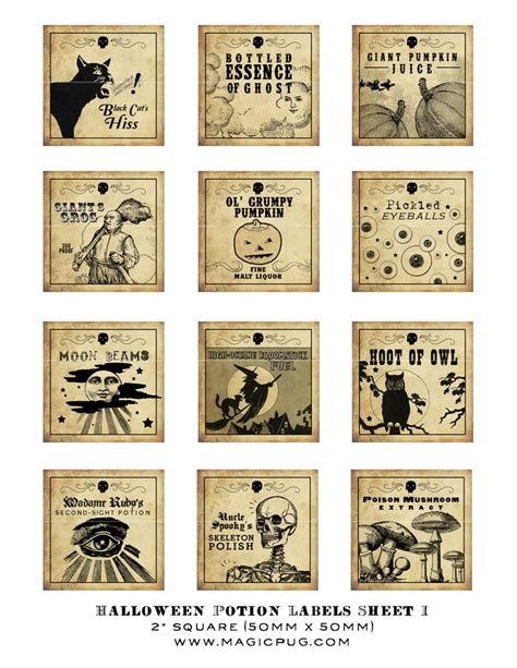 printable potion labels 39 best apothecary labels images on pinterest halloween