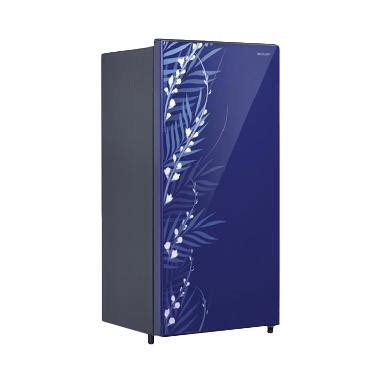 Freezer Sharp 1 Pintu jual sharp kulkas one door 133 l sj x165mg fb biru