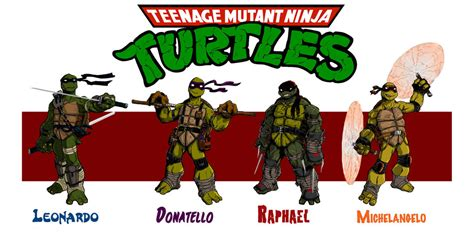 turtles colors and names mutant turtles names and colors
