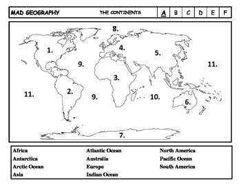 Blank Us Map For 5th Grade