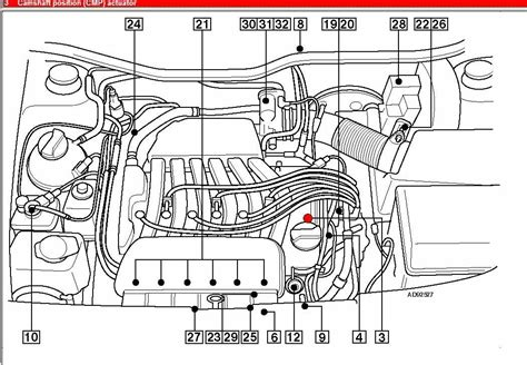 vw vr 6 engine wiring diagram and fuse box