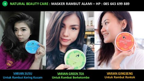 Masker Rambut Nature hp 0856 4369 9889 masker rambut kering dan rontok