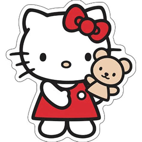 Pink And Black Home Decor by Hello Kitty Kitty Puppet Sticker